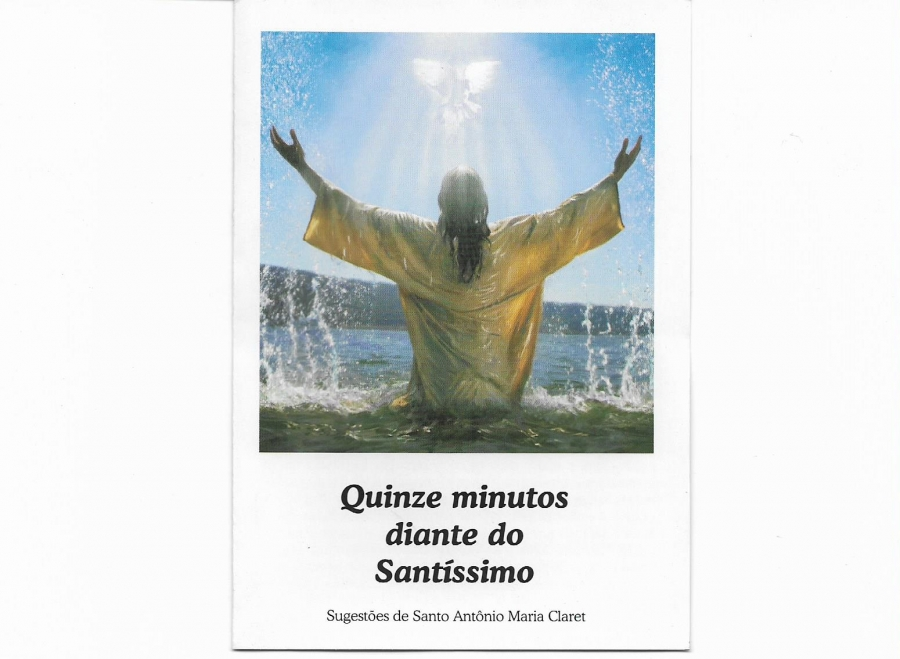 Folder Quinze minutos diante do Sant�ssimo 100 unid